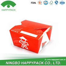 Wholesale HappyPack take away paper disposable bento box food container