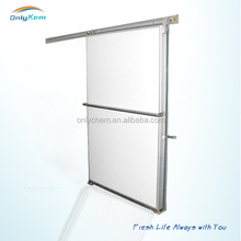 PU Panel cold room sliding door to Saudi Arabia for freezer room