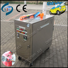 LPG power new condition mobile steam car wash