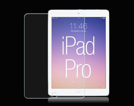 Perfect full cover glass screen protector for ipad pro