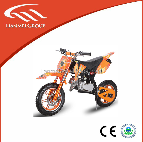 Hot selling mini gas motorcycles, dirt bike type for sale