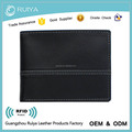 Genuine Leather Wallet Cow Leather Wallet Black Handmade Wallet