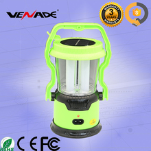 Fashion 1W rechargeable LED lantern light cheaper solar wind lantern VE-1972