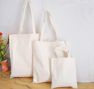 New Arrival white shopping tote bag For Girls Ues Tote Bags plain white cotton bag
