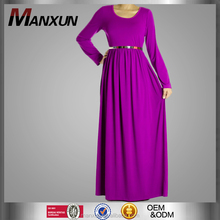 Muslim Dress 2016 Maxi for Women Plus Size Maxi Dress Long Sleeve Dress Abaya Design