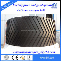 Chinese Supplier ISO Standard NN EP Fabric all kinds of Chevron Pattern Conveyor Belts