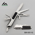 Multi function knife in stainless steel