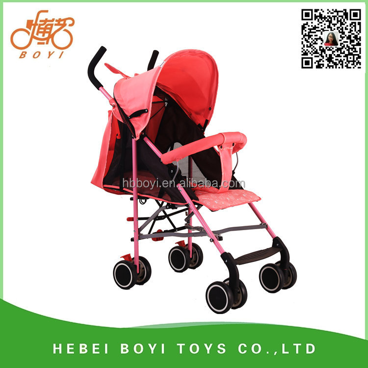 hot selling high quality 2017 China factory baby stroller easy to operate