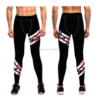 (OEM FACTORY)Men Yoga Leggings Running Dri Fit Plus Size Pants Bulk Sexy Seamless Wholesale Men Fitness Sports