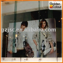 2012 Window advertising indoor banner printing service