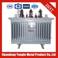 11KV 1250KVA S9 Series Oil Immersed Power Transformer