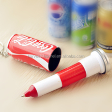 hot sale Coke Cola shaped promotional telescopic ball pen