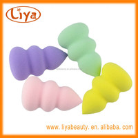 Alibaba gold supplier foundation makeup sponges with nature latex