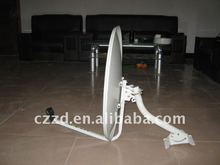 big base KU-60 cm eurostar satellite dishes satellte tv