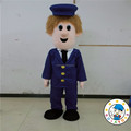 New postman mascot costume/Custom cartoon mascot supplier