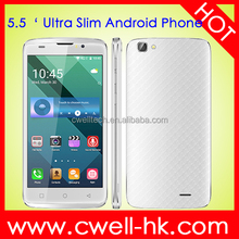 Original X-BO O2 5.5 Inch MTK6580M Ultra Thin Quad Core Dual SIM 3G GPS WIFI Smart Android 5.1 Cheap Android Mobile Phone