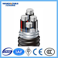 6/10kV XLPE Insulated PVC Sheathed Aluminum Alloy Power Cable TC90 ,alluminum alloy conductors