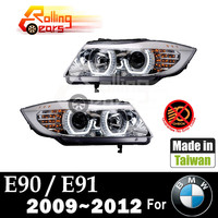 HALO car headlight assembly for BMW E90 E91 316 318 320 325 328 330 335 Sedan Saloon Wagon Touring 2009 2010 2011 2012