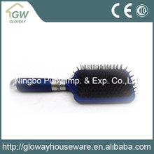 2016 New design low price decorative plastic hair brush