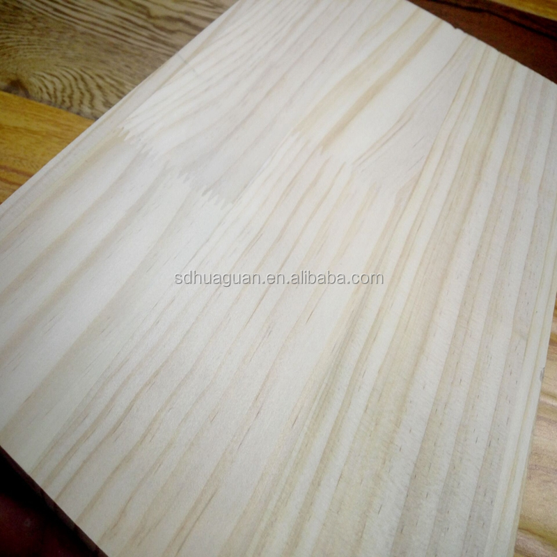 pine finger joint laminated wood board