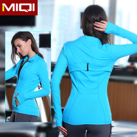Wholesale Worktout Sports Clothing Women Fitness Spandex Yoga Jacket
