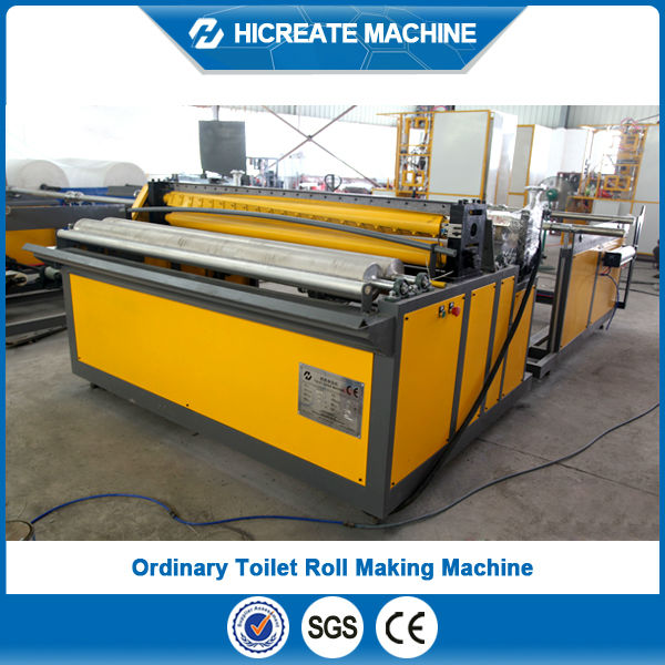 High quality used toilet roll making machines