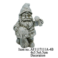 Polyresin Ornaments Resin Craft Outdoor Christmas Garden Yard