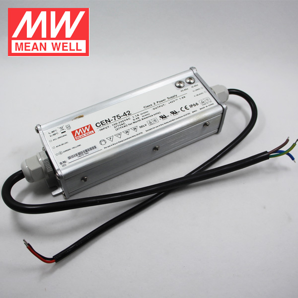 Meanwell IP66 Waterproof LED Power Supply CEN-75-36 75W LED Driver 36V 2.1A