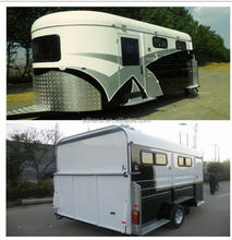 Hot sale best chinese imported cheap horse trailer floats for sale