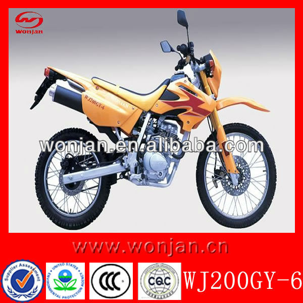Haute qualité à faible prix 200cc moto made in china ( WJ200GY-6 )