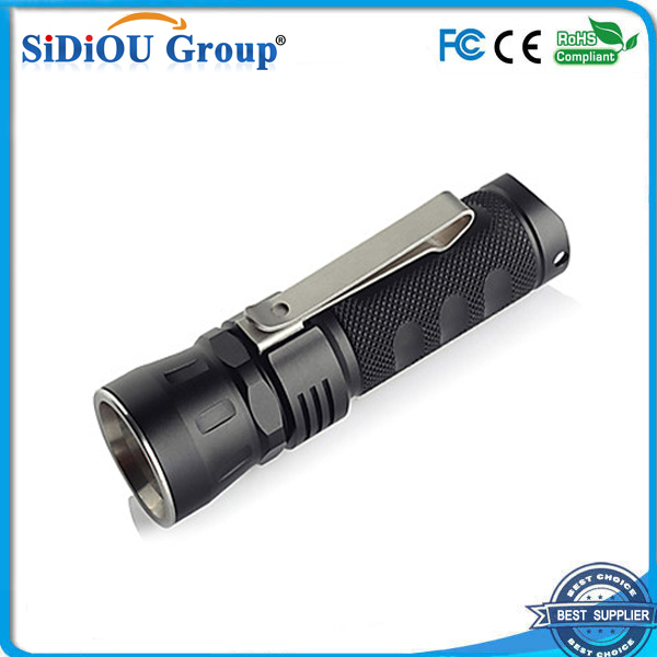 xml2 led glare multifunction smiling shark flashlight