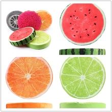 Eco-friendly dog bed fruit shape cushion foam pet mat cushion
