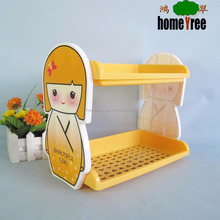 Little Doll Custom Reinforced DIY Dismountable Small Removable Storage Plastic Shelf
