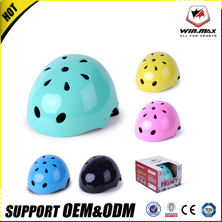 new design colorful safety sport bicycle skate helmet for kids