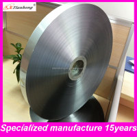 single-side polyester ldpe laminated aluminium foil roll film for coaxial cable shield