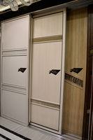 Modern American, Australia project experience 3-track sliding closet door