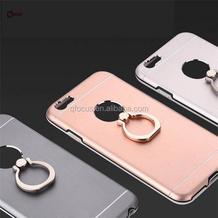 360 rotating metal ring holder cell phone case for iphone 6