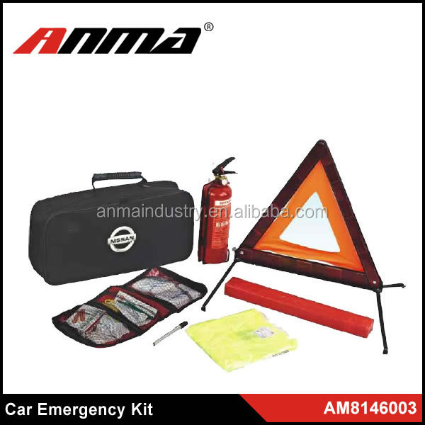 High Quality and New auto first aid kit/Car emergency kit /Road assistant kit