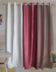 Simple Design Polyester Window Curtains