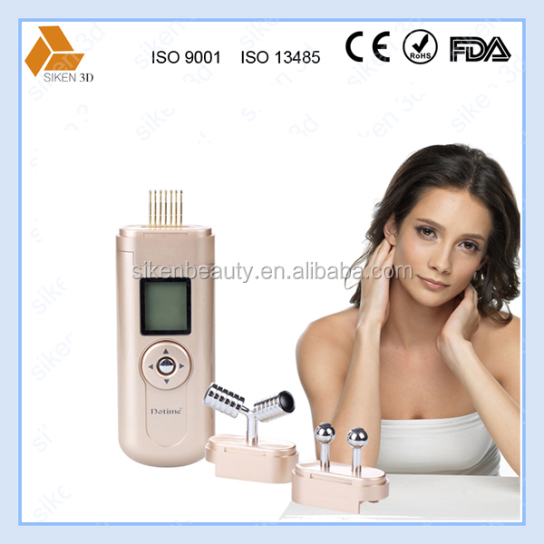 from korea market TV shopping beauty products hot selling microcurrent facial machine for at home skin tightening machine