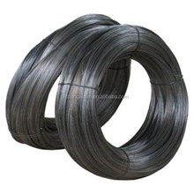 black surface treatment and binding wire function 16 guage black annealed tie wire