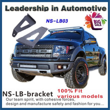 54inch CURVED UPPER WINDSHIELD Led Bar Light Mounting Bracket For Jeep Ford F150