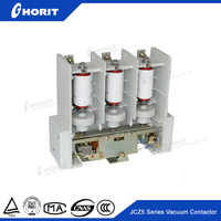 Permanent Magnetic Vacuum 3 pole Contactor with electromagnetic operating for AC power distribution system