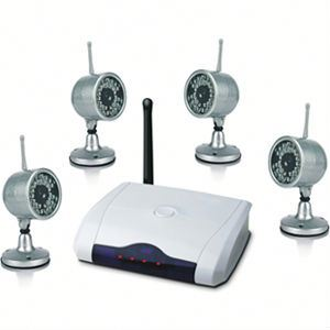 All In One Kit 2.4G Wireless surveillance video camera systems with competitive price!