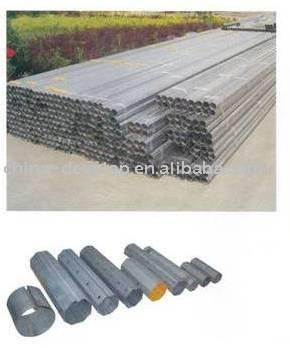Galvanized steel Octagonal tube/axle DPOT40,60,70