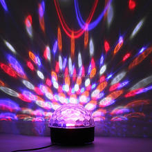 Led Party Disco Ball DJ Lights 3w Strobe Rotating Magic Lights Show Sound Actived DJ Stage Dance Wedding Holiday lamp lighting