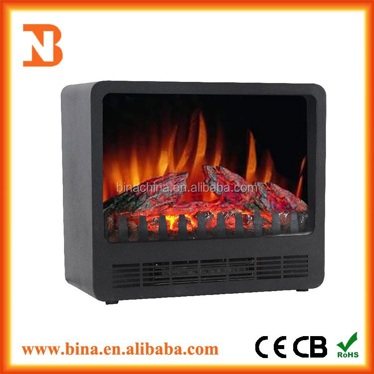 2015 freestanding desktop mini electric fireplace insert heater