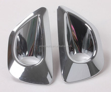 Front Fog Lamp Light Cover Trim ABS Chrome 2 Pcs For Grand Cherokee 2014 Accessories