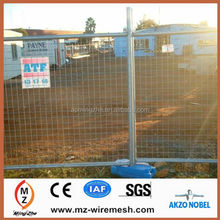2014 hot sale Galvanized Temporary Fences with Welded Wire Mesh for dog sport cage alibaba express