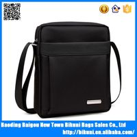 Business and causal oxfords black brown men messenger single shoulder tablet bag